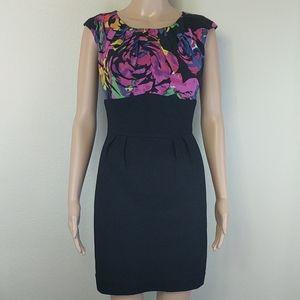 [Trina Turk] Beautiful Floral Silk Print Dress